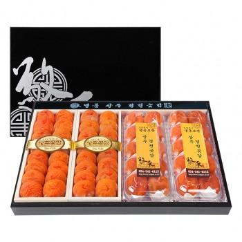 상주경천곶감 한지목함 명품5호 <br>왕곶감(32개)+왕반건시(20개)