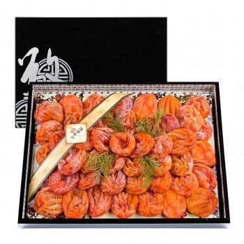 상주경천곶감 옻칠한지목함채반1호 명품건시 50~60개 2.8kg