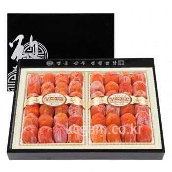 상주경천곶감 옻칠한지목함 명품건시7호 명품건시 48개 2.3kg